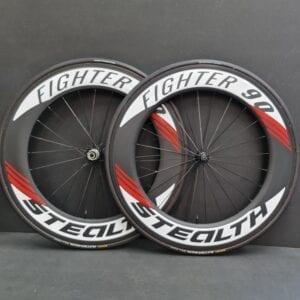 Stealth Fighter90 Tube / SL3 Velgrem Wielset Incl. Tubes
