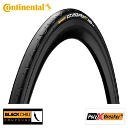 Continental BUB 28X11/16 CO GRAND PRIX GT ZW VW Zwart